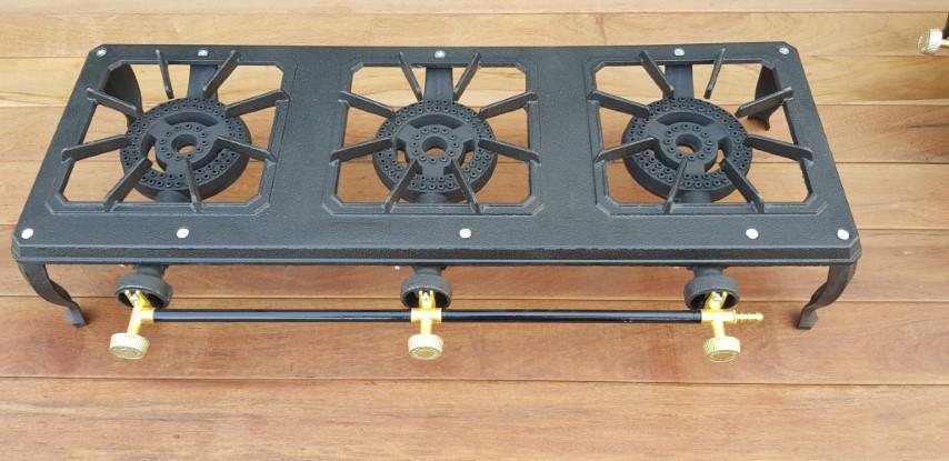 כירת גז 3 להבות במידות 75 × 30 סנטימטר